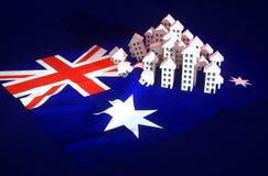 Sviluppo immobiliare australiano Immagini Stock