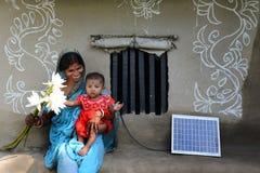 Sviluppo rurale Fotografia Stock Libera da Diritti