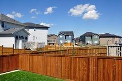 Sviluppo suburbano Immagine Stock