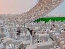 Sviluppo urbano Immagine Stock Libera da Diritti