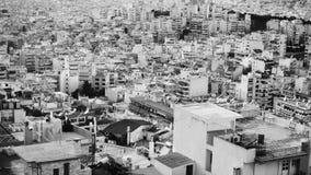 Sviluppo urbano denso immagine stock