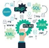 Sviluppo Web royalty illustrazione gratis
