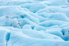 Svinafell Glacier Iceland Stock Photography