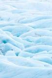 Svinafell Glacier Iceland Stock Photo