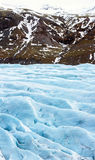 Svinafell Glacier Iceland Royalty Free Stock Photos