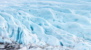 Svinafell Glacier Iceland panorama Royalty Free Stock Photography