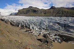 Svinafellsjokull Imagen de archivo
