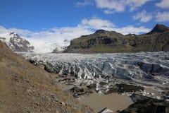 Svinafellsjokull Foto de archivo libre de regalías