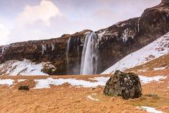 Svinafellsjokull Falls Royalty Free Stock Photos