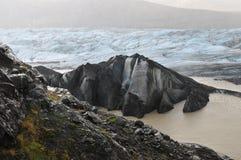 Svinafellsjokull Glacier Royalty Free Stock Photos