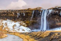 Svinafellsjokull Waterfall, Iceland Stock Photography