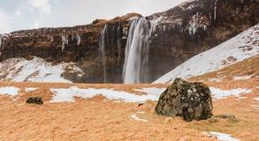 Svinafellsjokull Waterfall Stock Images