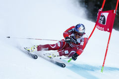 SVINDAL Aksel Lund in Audi Fis Alpine Skiing World-Kop Men's G Royalty-vrije Stock Foto's
