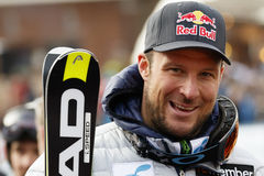 SVINDAL Aksel Lund in Audi FIS alpiner Ski World Cup - 3. MÄNNER Lizenzfreies Stockbild