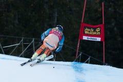 SVINDAL Aksel Lund (NOR). VAL GARDENA - GROEDEN,  ITALY, December 21 2013. SVINDAL Aksel Lund (NOR) competing in the Audi FIS Alpine Skiing World Cup MEN'S Royalty Free Stock Photo