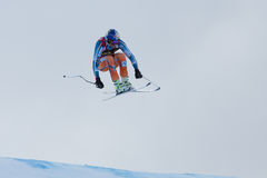 SVINDAL Aksel Lund (NOR). VAL GARDENA, ITALY - DECEMBER 21:  SVINDAL Aksel Lund (NOR) races down the Saslong competing in the Audi FIS Alpine Skiing World Cup Stock Images