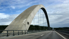 Svinesundsbron, Norway - Sweden Royalty Free Stock Images