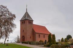 Svino kyrka i Danmark Arkivfoto