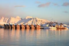 Svinoya Insel lizenzfreie stockbilder