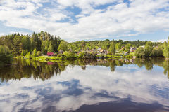 Svir River. Karelia. Russia. Svir River. Karelia. North of Russia Stock Photo