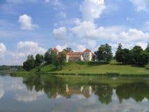 Svirge castle. Near Lviv, Ukraine, Middle Ages Stock Photography
