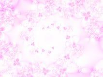 Svirl dei fiori Immagini Stock
