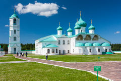 svirsky alexander kloster Royaltyfria Foton