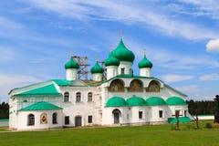Svirsky-Kloster Lizenzfreie Stockbilder