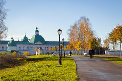 Svirsky monastery. The Holy Trinity Alexander Svirsky monastery in Leningrad region Stock Photography