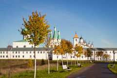 Svirsky monastery. The Holy Trinity Alexander Svirsky monastery in Leningrad region Royalty Free Stock Photo