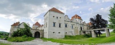 Svirzh slott Fotografering för Bildbyråer