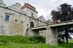Svirzh slott Royaltyfri Fotografi
