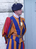 Sviss guard in Vatican Royalty Free Stock Photos
