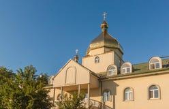 SVITIAZ, UCRANIA: Peter y Paul Monastery de ortodoxo ucraniano Imagenes de archivo