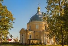 SVITIAZ, UKRAINA: Peter i Paul monaster Ukraiński ortodoks Fotografia Royalty Free