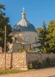 SVITIAZ, UKRAINA: Peter i Paul monaster Ukraiński ortodoks Zdjęcia Stock