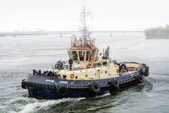 Svitzer Cartier bogserbåt Royaltyfria Foton