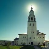 Sviyagsk, Россия, 4-ое июля 2012, монастырь Uspensky, церковь St Nicholas - известного touristic ориентир ориентира стоковое фото rf