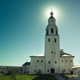 Sviyagsk, Rússia, o 4 de julho de 2012, monastério de Uspensky, a igreja de São Nicolau - marco turístico famoso foto de stock royalty free