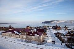 Sviyazhsk Τύποι των νησιών Άποψη του ποταμού Sviyaga στοκ φωτογραφία με δικαίωμα ελεύθερης χρήσης