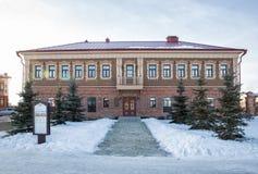 Sviyazhsk, дом купца Стоковые Фотографии RF