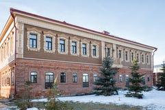 Sviyazhsk, дом купца Стоковая Фотография