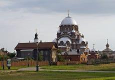 Sviyazhsk Holy Virgin Cathedral Stock Photo