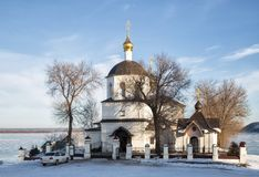 Sviyazhsk Kościół Helena i Constantine obrazy stock