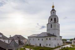 Sviyazhsk, Rússia, o 4 de junho de 2018: Catedral da suposição em Sviyazhsk, república de Tartaristão fotos de stock