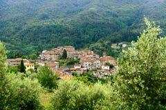 Svizzera Pesciatina (Toskana) stockfotos
