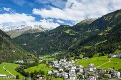 In svizzero Alpes Fotografie Stock
