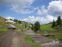 Svoboda village Stock Photography