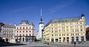 Svobodak square in Brno Stock Photography