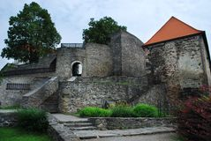 Svojanov castle Stock Photography